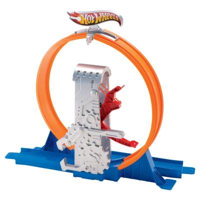 Trecho-de-Pista-Hot-Wheels---Track-Builder---Looping-Veloz---Mattel