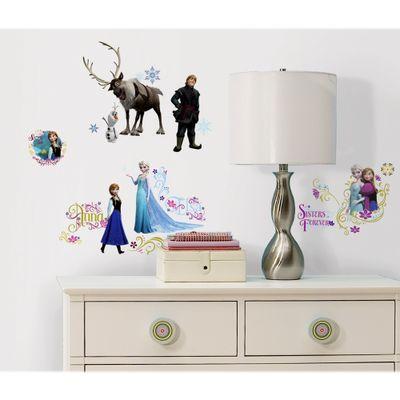 Adesivo-Decorativo-Reposicionavel-Frozen---RoomMates