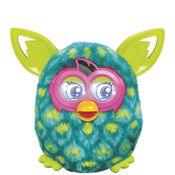 Pelucia-Interativa --- Furby-Boom --- verde-pavão --- Hasbro --- A4333