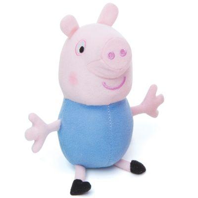 Pelucia-Peppa-Pig-e-Seus-Amigos---George---17-cm---Estrela