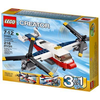 31020---LEGO-Creator---Aventuras-com-Aviao-de-Duas-Helices