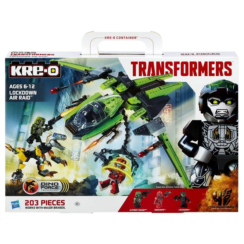 Comprar Kit infantil Air Raid Kre-o Transformers Lockdown