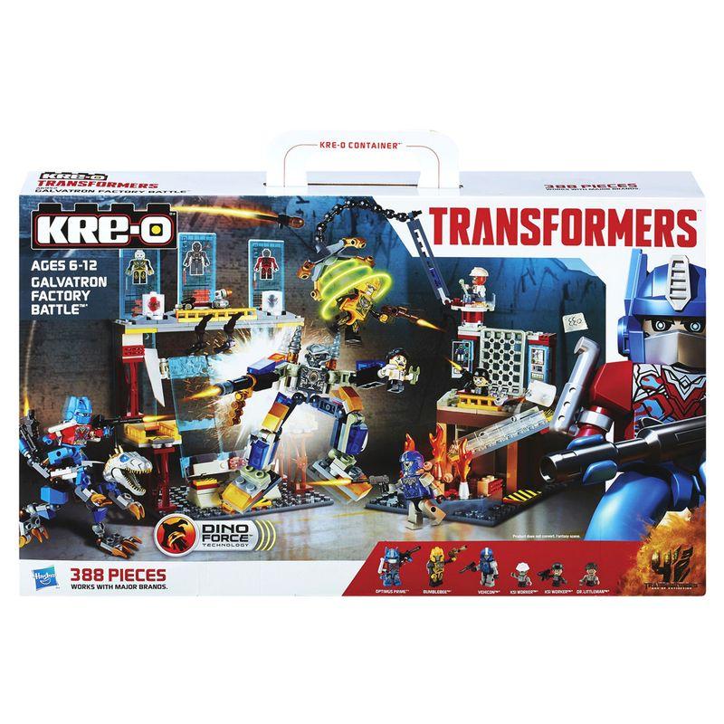 Comprar Kit infantil Transformers Kre-o Galvatron Factory Battle