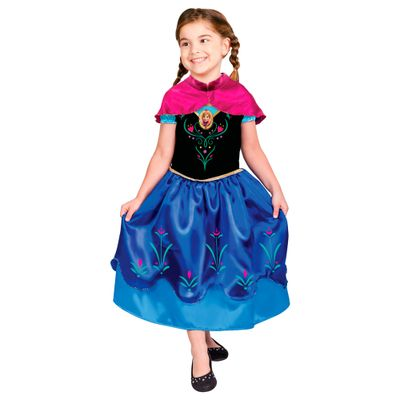 Fantasia Infantil Frozen - Princesa Anna - Rubies - M cod 100088129