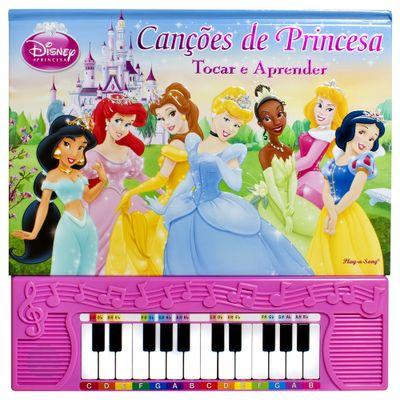 Livro-Princesas-Disney---Cancoes-de-Princesa---DCL