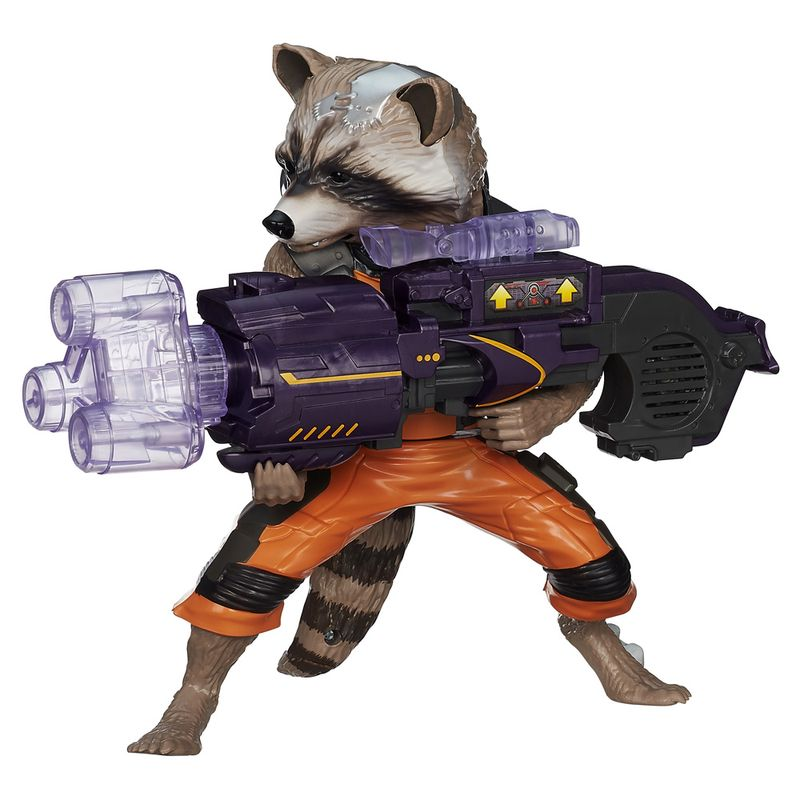 Comprar Boneco do filme Guardiões da Galáxia Big Blastin Rocket Raccoon da Hasbro