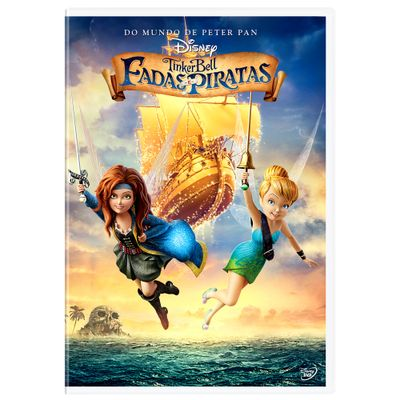 DVD-Tinker-Bell---Fadas-e-Piratas---Disney