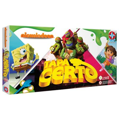 Jogo-Tapa-Certo-Nickelodeon---Estrela