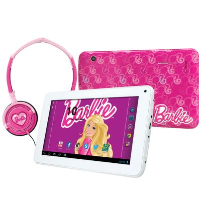 Tablet-Android-4.2-Barbie-com-Headphone-Tela-7-Multi-Touch-e-Memoria-Interna-8GB-Candide
