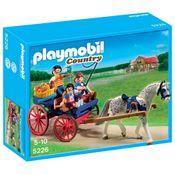 5226-Playmobil-Country-Charrete-com-Cavalo-Sunny