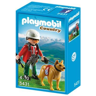 5431-Playmobil-Country-Socorrista-com-Cao-de-Busca-Sunny