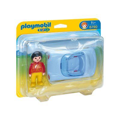 Playmobil-1-2-3---Carro-Conversivel---6790