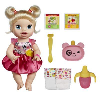 Boneca Baby Alive Loira - Hora de Comer - Hasbro cod 100094990