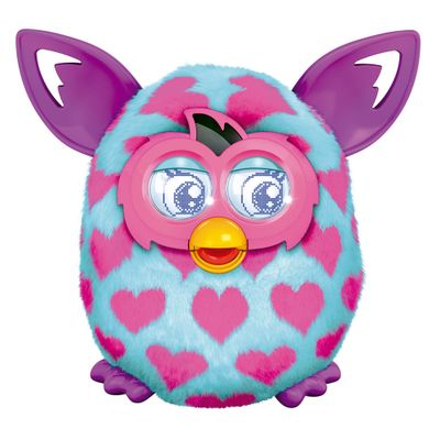 Pelúcia Interativa - Furby Boom - Pink Houndstooth - Hasbro