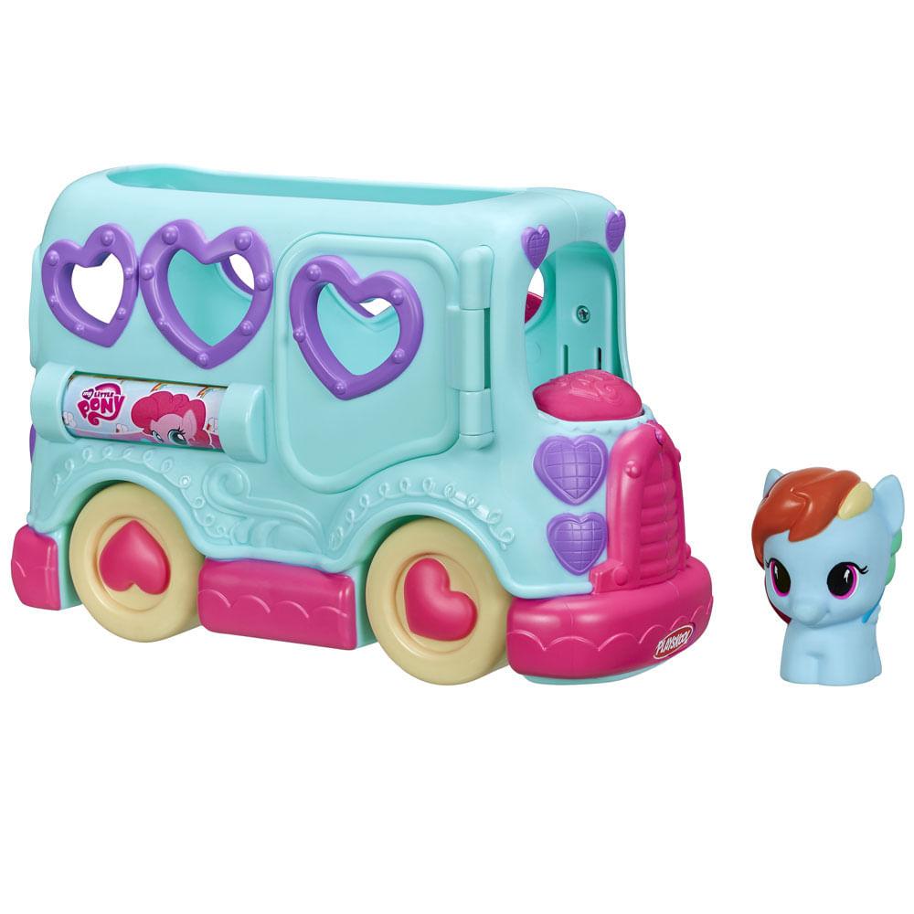c70fe306f Ônibus My Little Pony - Playskool - Rainbow.