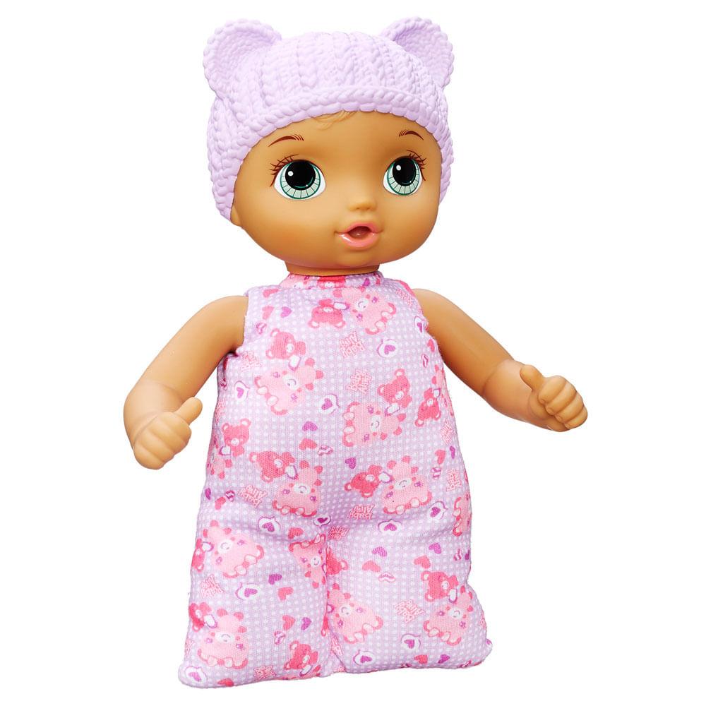 15a57aa47b Boneca Baby Alive - Morena - Naninha - B7114.