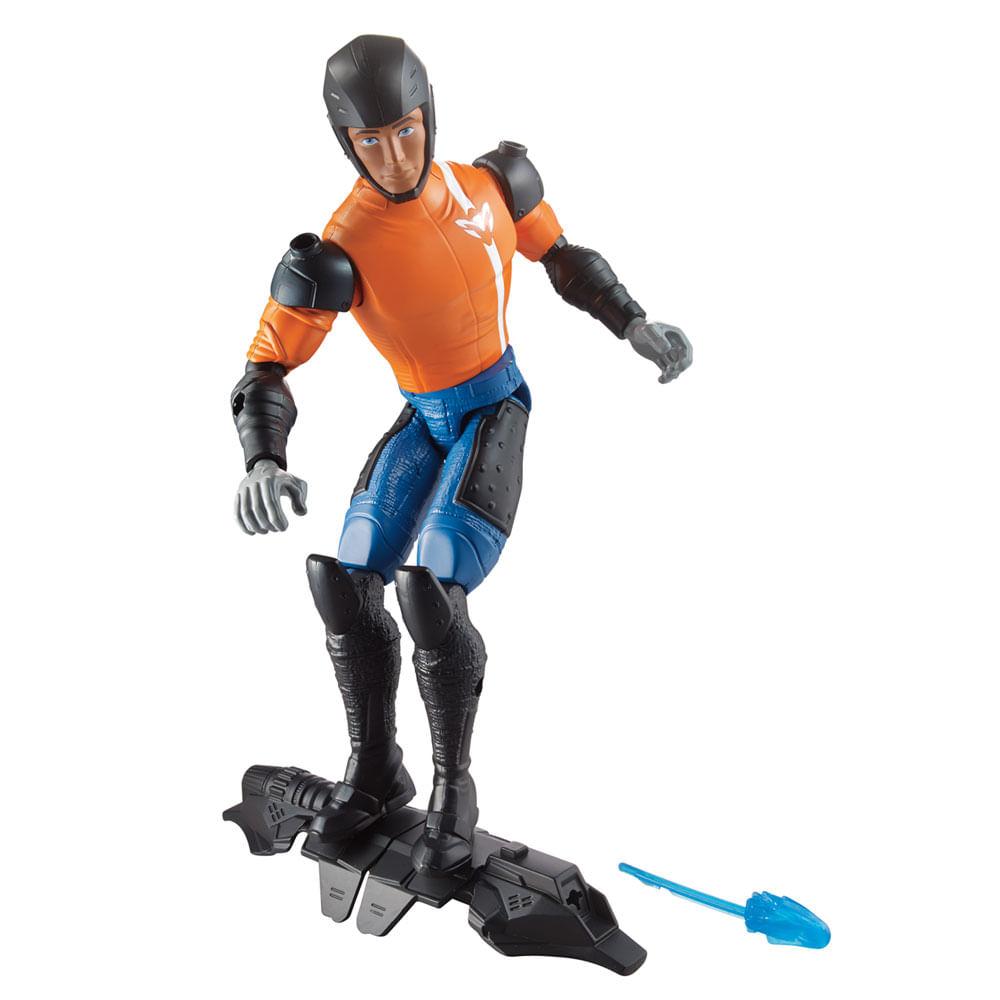 8644b97834 Boneco Max Steel - Max Skate Lançador -.