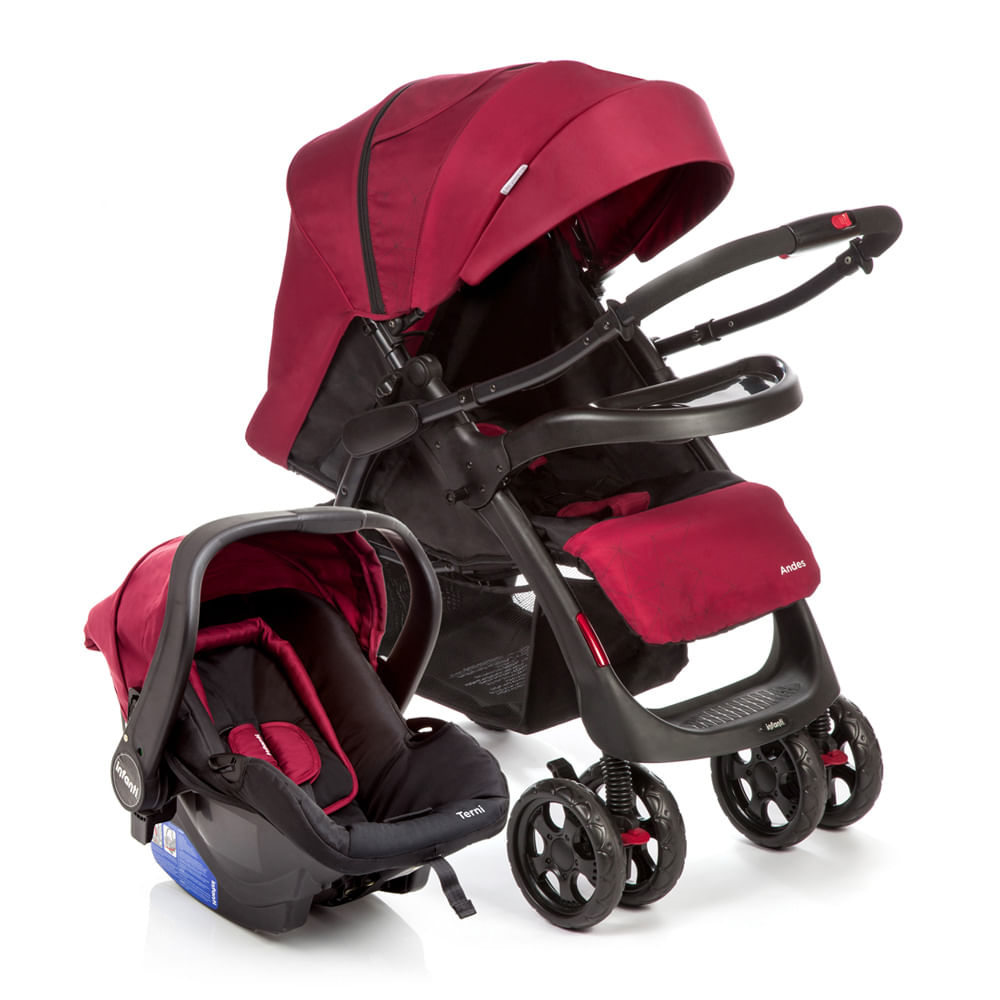 Travel System Andes Duo Cherry - Infanti