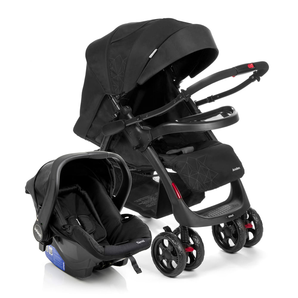 Travel System Andes Duo Onyx - Infanti