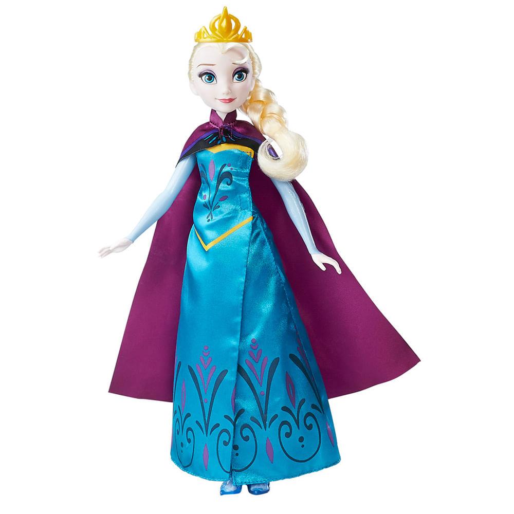ab0ff32603 Boneca Elsa - Frozen - Vestido Duplo - Disney.