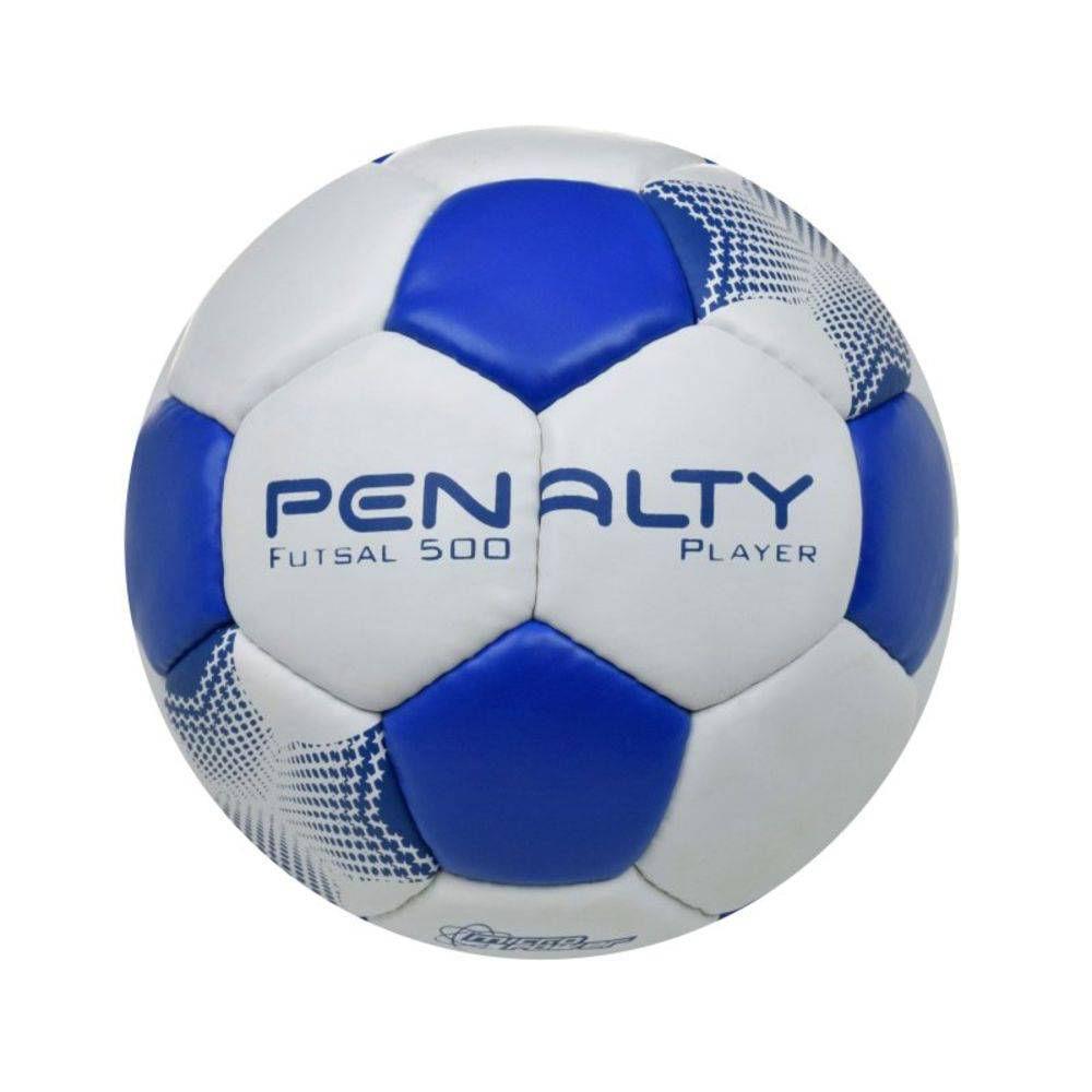 8c3c111790 Bola de Futsal - Player VII - Branco e Azul -.