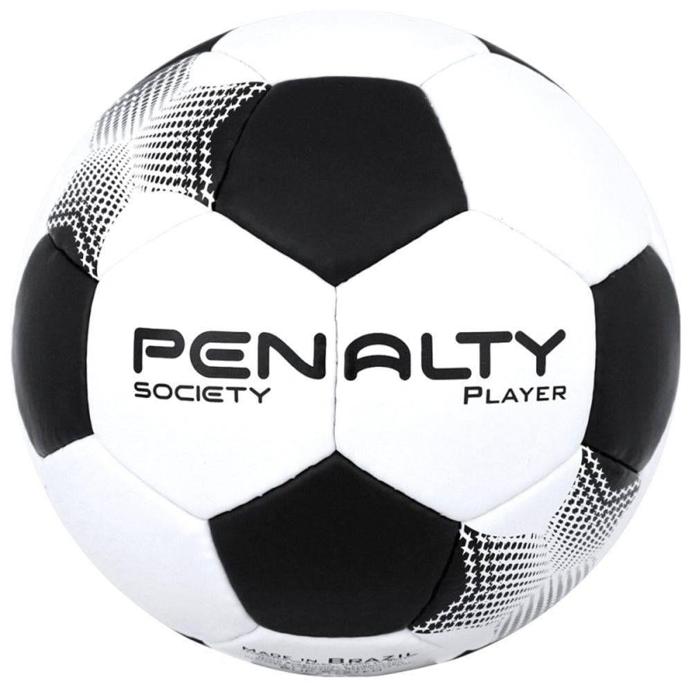 7360ca52c3 Bola de Futsal - Player VII - Branco e Preto.