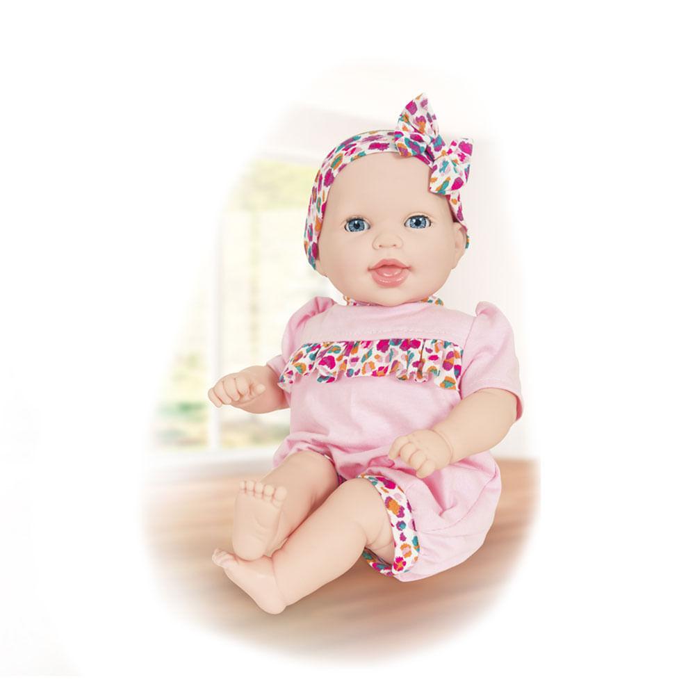 9e83f22f4 Boneca - 44cm - Life Baby - Papinha -.