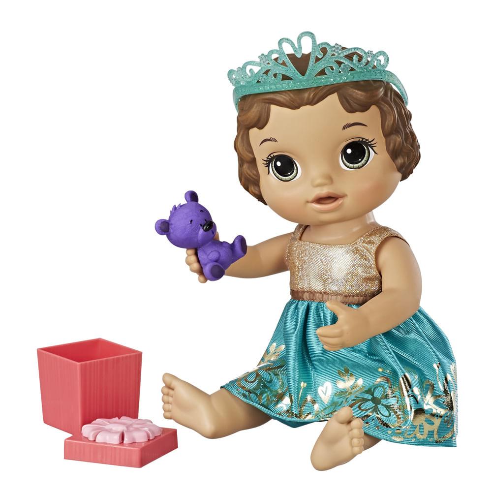 ee8a92223a Boneca Baby Alive - Festa Surpresa - Morena -.