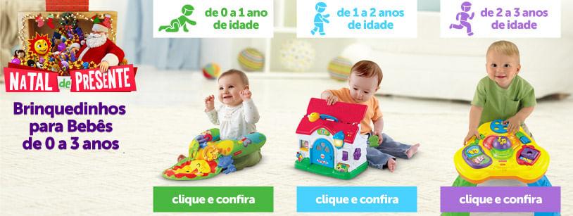 Brinquedinhos para Bebês de até 3 anos
